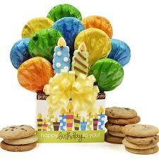 Decorated Gourmet Cookies Tripleclicks Com Birthday Box Cookie Bouquet