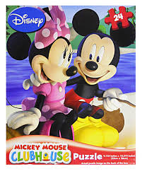 amazon mickey mouse clubhouse 24 piece puzzle assorted styles