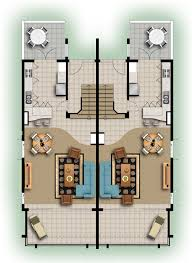 home design floor plans on cute 3d colored floor plan architecture