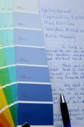practice paint sample storytelling children writing students