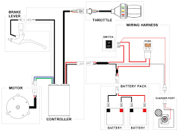 e bike controller wiring diagram likewise 7 pin round trailer plug