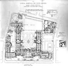 file plan of london hospital whitechapel road 1893 wellcome