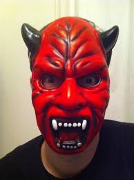 devil masks and angry taxi drivers living with a man