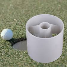 golf training aids white plastic golf hole cup putting putter yard