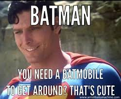 Super Man Meme - new leaked superman vs batman meme amish baby machine podcast