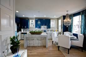 Blue Floor L Blue Kitchen Cabinets Contemporary Kitchen Lulu Designs