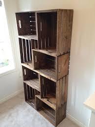 Crates For Bookshelves - image result for wood crate bookshelf inside a genie bottle