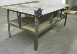 Metal Work Tables Metal Work Table Item As9082 Sold July 23 Vehicles And