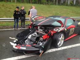 laferrari crash ferrari 458 italia crash gumball 4 images ferrari 458 italia