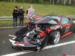 ferrari laferrari crash ferrari 458 italia crash gumball 4 images ferrari 458 italia