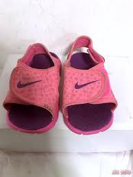 nike sunray adjust 4 water sandals pink purple toddler girls size