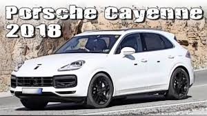 Porsche Cayenne 1st Generation - all new 2018 porsche cayenne next generation undisguised youtube