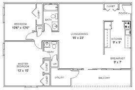 Modern 2 Bedroom Apartment Floor Plans 2 Bedroom Apartments Floor Plan Interesting Interior Design Ideas