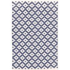 Indoor Outdoor Area Rugs Dash And Albert Rugs Samode Hand Woven Blue Indoor Outdoor Area