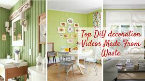 Home Decoration Videos Top Best Out Of Waste Videos For Diy Home Decoration