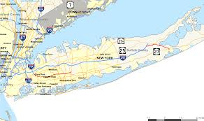 Hamptons Map New York State Route 24 Wikipedia