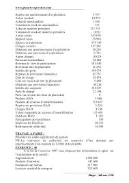 plan comptable fourniture de bureau generale exercices et corriges 1