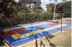 backyard courts gallery sport court home design 2017