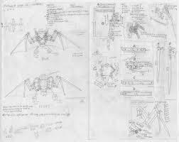 mechanical wings blueprint