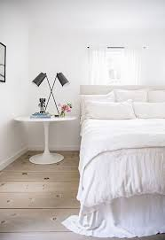 All White Bedroom by