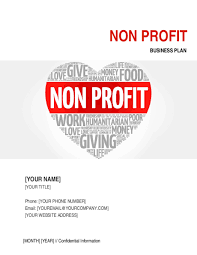 non profit organization business plan 4 template u0026 sample form