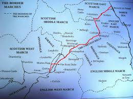Map Of England And Scotland by Border Reivers Border Law Day Of Truce Border Reivers From The