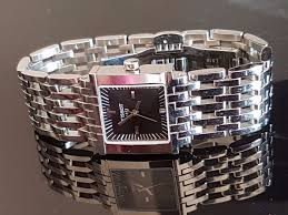 tissot steel bracelet images Original tissot 1853 gorgeous wristwatch with chrome plated jpg