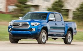 lexus pickup truck 2016 2016 toyota tacoma v 6 limited 4x4 u2013 review u2013 car and driver