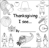 printable my thanksgiving book pages happy thanksgiving