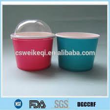 Personalized Ice Cream Bowl Custom Paper Ice Cream Cups