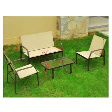 Outdoor Mesh Furniture by Outsunny 4 Piece Aluminum Mesh Outdoor Furniture Set Only A Few Left