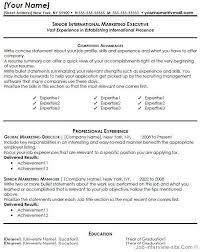 marketing resume templates marketing achievements resume exles exles of resumes