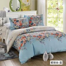 Flower Bed Sets Free Shipping 4pcs Bed Set Satin Jacquard Home Textile Bedding