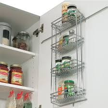 wall spice cabinet with doors spice racks door mounted spice racks by vauth sagel