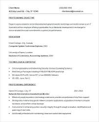 It Specialist Resume Sample by Entry Level Resume Templates Template Billybullock Us
