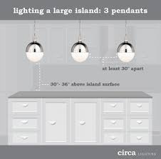 pendant lights for kitchen island spacing how to hang pendant lights an island diy e interiors