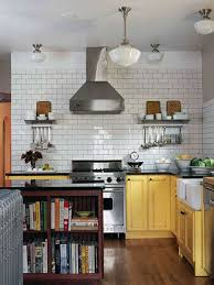 furniture for kitchens large subway kitchen backsplash tile black countertop with tip