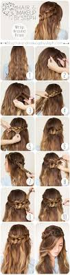easiest type of diy hair braiding the 25 best wrap around braid ideas on pinterest how to crown