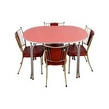 Red Dining Room Sets Used Dining Sets Nyc