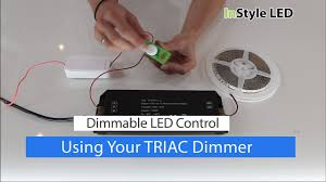 led strip light transformer how to set up use your led strip light triac transformer dimmer