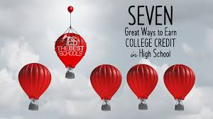 seven ways you can earn college credits while still in high