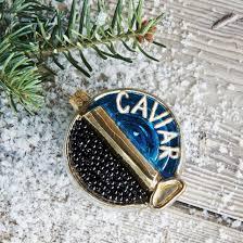 caviar ornament sur la table caviar and