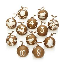 aman imports 12 days of paper maché ornaments