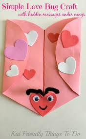 simple love bug valentine craft
