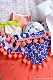Making Gift Baskets Easy And Luxurious Purse Gift Basket Hello Little Home