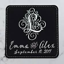 save the date coasters crest collection save the date coaster pomp revel