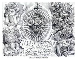 resultado de imagem para gangster tattoo flash designs tatoo