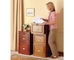 three drawer filing cabinet wood veneered lockable name card