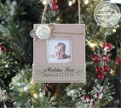 baptism gift ornament personalized unique gift baby