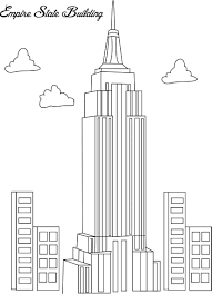 coloring pages pdf u2014 coloring pages empire state building source